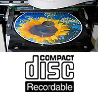Thermal Printable CD-R