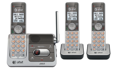 ATT CL82301: Cordless 3 Handset Answering System from Am-Dig