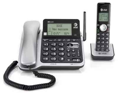 ATT CL84102: Answering System, Corded/Cordless from Am-Dig