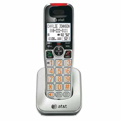 ATT CRL30102: Silver Handset Landline Phone from Am-Dig
