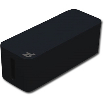 Bluelounge BLUCB-01-BL Cablebox Cable Mngmnt Black from Am-Dig