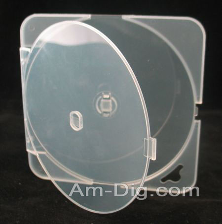 CD/DVD Poly 4mm Square Retail Tab from Am-Dig