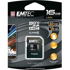 EMTEC EKMSDM16G150XHC Micro SDHC 16GB Class 10 from Am-Dig
