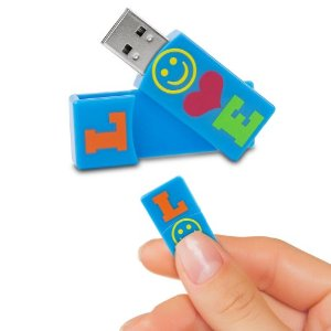 EMTEC EKMMD4GM429 Flash Drive 4GB Love from Am-Dig