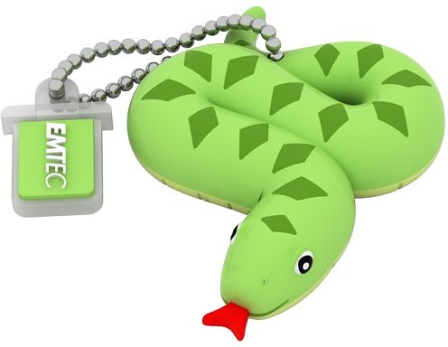 EMTEC EKMMD8GM330: 8GB Snake Flash Drive from Am-Dig