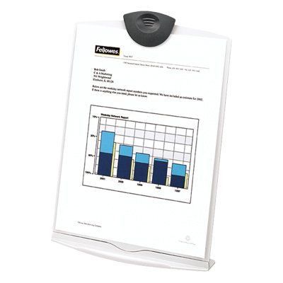 Fellowes 20000: Copystand, Platinum/Charcoal