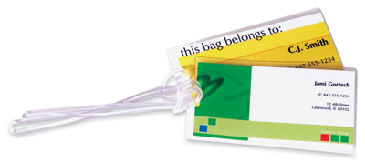 Fellowes 52003: Laminating Pouches, Luggage Tag