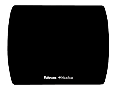 Fellowes 5908101: Mouse Pad Thin Microban, Black  from Am-Dig
