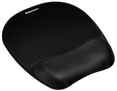 Fellowes 9176501 Mouse Pad/Wrist Rest, Memory Foam
