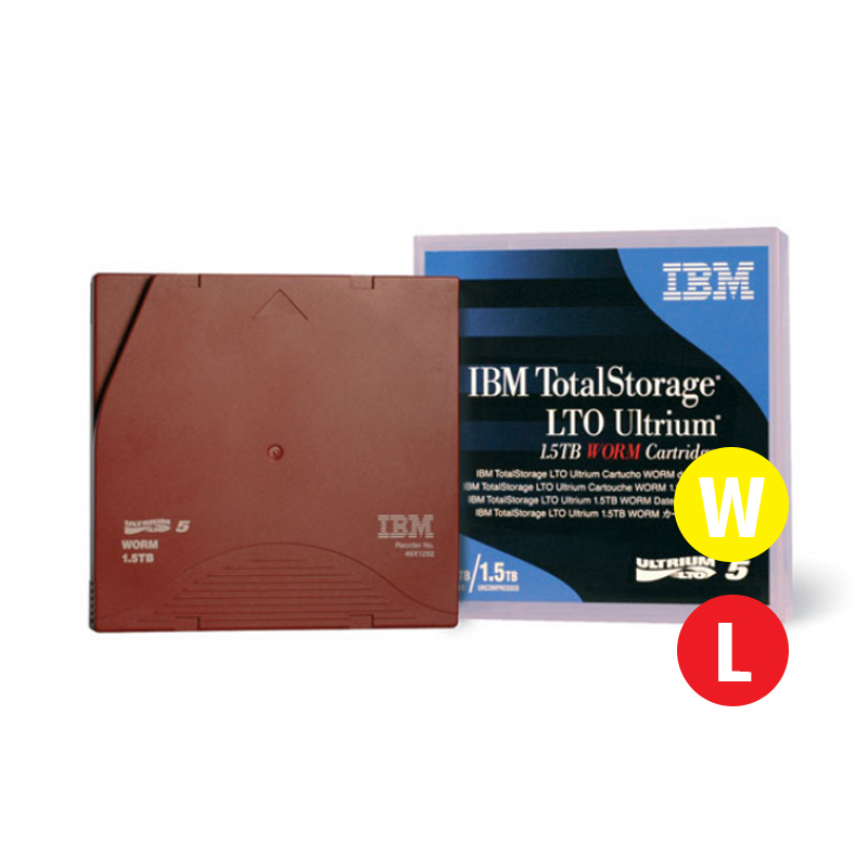 You may also be interested in the IBM LTO Ultrium 5 1.5TB/3.0TB 5pk .