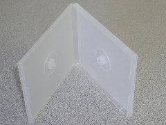 CD Jewel Case - Poly Double Clear 12mm Spine from Am-Dig