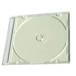 CD Jewel Case - MaxiSlim 5.2mm White Single from Am-Dig
