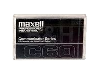 Maxell COM60 Cassette Type I Normal Bias 60 min Communicator Std from Am-Dig