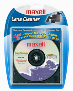 Maxell 190048 CD-340 Lens Cleaner
