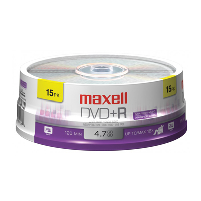 You may also be interested in the Maxell DVD-R, 4.7GB, 16x, Hub Printable, PTC, W....