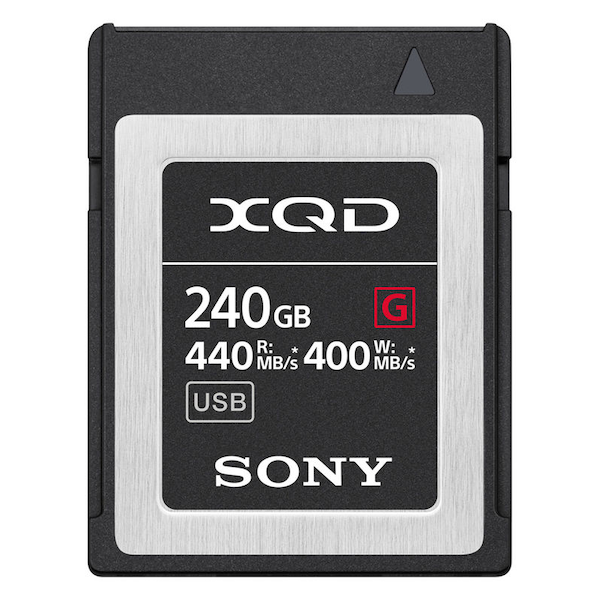 Sony QD-G240F Memory Card XQD G Series 240GB