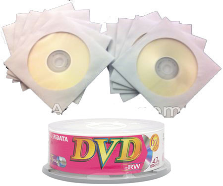 Ridata/Ritek 6x DVD-RW Branded 5 Disc Mini-Pack from Am-Dig