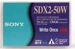 Sony SDX2-50W 50/100GB 230M AIT2 WORM 8mm Tape from Am-Dig