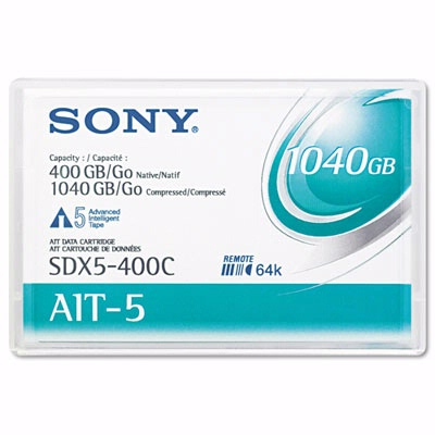 Sony SDX5400C: 8 mm AIT-5 Cartridge 246m 400GB Nat from Am-Dig