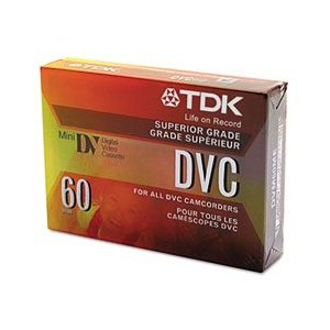 TDK 37140 DVC Mini Digital 60 minute