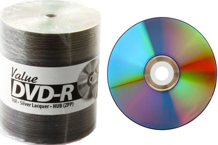 Taiyo Yuden/CMC Value DVD 16x InkJet Hub Printable from Am-Dig