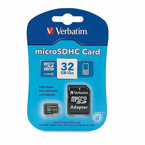 Verbatim 97643: Micro SDHC Memory Card, 32GB from Am-Dig