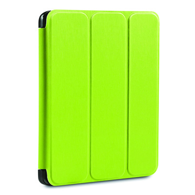 Verbatim 98404 Lime Green Folio Flex iPad Air Case from Am-Dig