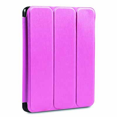Verbatim 98405: Pink Folio Flex Case for iPad Air from Am-Dig