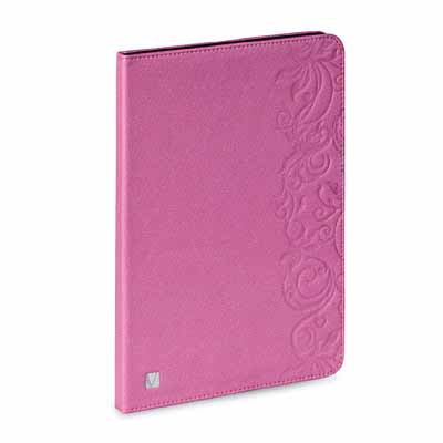 Verbatim 98528 Folio Pink Floral Case for iPad Air from Am-Dig