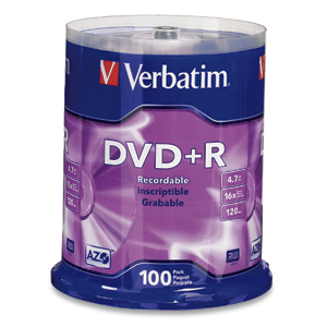 Verbatim 95098 Branded 16x DVD+R (plus)