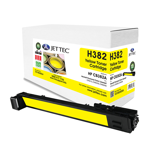West Point 200322 HP Reman CB382A Yellow Toner   from Am-Dig