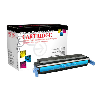 West Point 114533P Restored HP C9731A Cyan Toner from Am-Dig