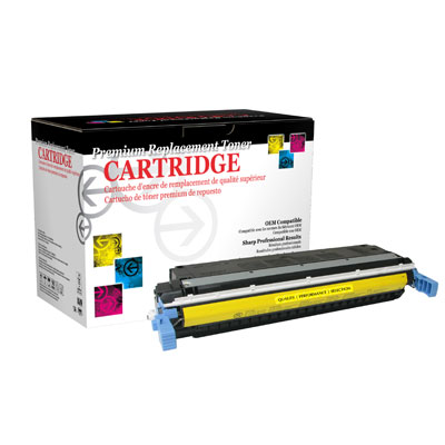 West Point 114535P Restored HP C9732A Yellow Toner from Am-Dig