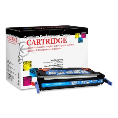 West Point 114666P Restored HP Q6471A Cyan Toner from Am-Dig