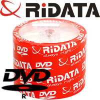 Ridata/Ritek Recordable DVD